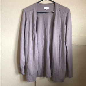Lou and Grey cardigan size M dusty lilac color.